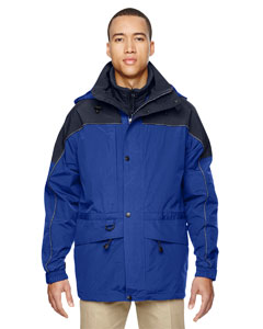 Ryal Cobalt 714 Men's 3-in-1 Two-Tone Parka