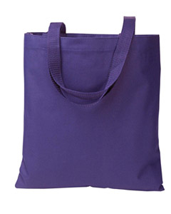 Purple Madison Basic Tote