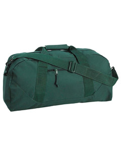 Forest Game Day Large Square Duffel