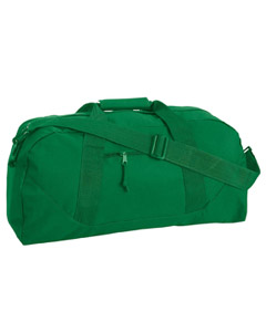 Kelly Green Game Day Large Square Duffel