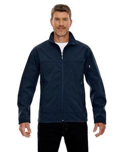 Midn Navy 711 Men's Three-Layer Fleece Bonded Performance Soft Shell Jacket