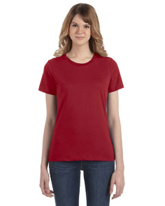 Independence Red Women's Fashion Ringspun T-Shirt
