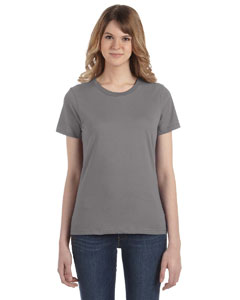 Storm Grey Women's Fashion Ringspun T-Shirt