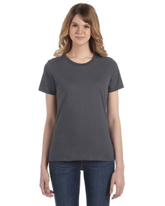 Charcoal Women's Fashion Ringspun T-Shirt