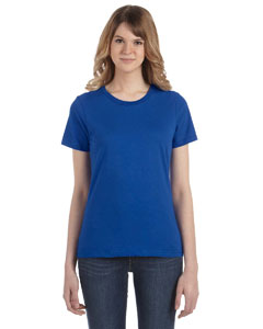Royal Blue Women's Fashion Ringspun T-Shirt