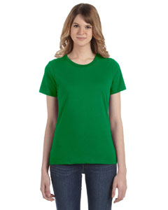 Kelly Green Women's Fashion Ringspun T-Shirt
