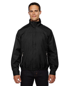 Black 703 Men's Bomber Micro Twill Jacket