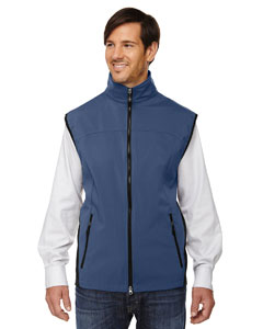 Regata Blue 815 Men's Three-Layer Light Bonded Performance Soft Shell Vest