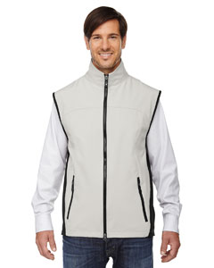 Natrl Stone 820 Men's Three-Layer Light Bonded Performance Soft Shell Vest