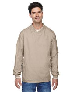 Putty 734 Men's V-Neck Unlined Wind Shirt