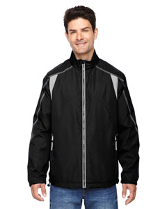 Black 703 Men's Endurance Lightweight Colorblock Jacket
