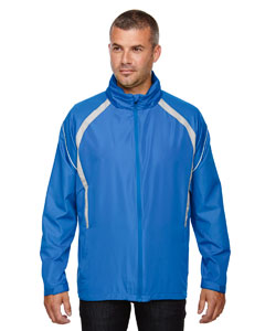 Lt Naut Blu 417 Men's Sirius Lightweight Jacket with Embossed Print