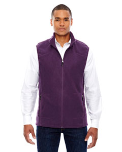 Mulbry Purpl 449 Men's Voyage Fleece Vest