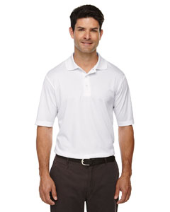 White 701 Men's Origin Performance Piqué Polo