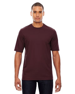 Burgundy 060 Men's Pace Performance Piqué Crew Neck