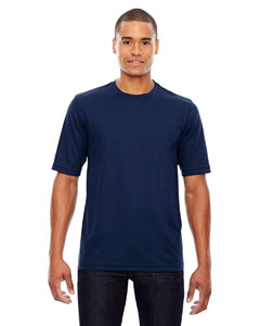 Classic Navy 849 Men's Pace Performance Piqué Crew Neck