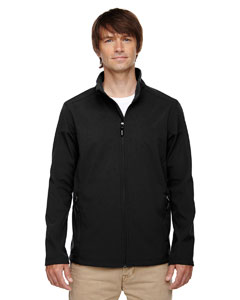 Black 703 Men's Cruise Two-Layer Fleece Bonded Soft Shell Jacket