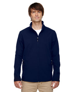 Classic Navy 849 Men's Cruise Two-Layer Fleece Bonded Soft Shell Jacket