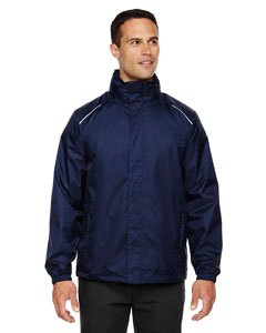 Classic Navy 849 Men's Climate Seam-Sealed Lightweight Variegated Ripstop Jacket