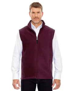 Burgundy 060 Men's Journey Fleece Vest