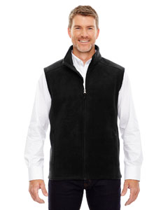 Black 703 Men's Tall Journey Fleece Vest