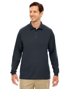 Carbon 456 Men's Pinnacle Performance Long-Sleeve Piqué Polo