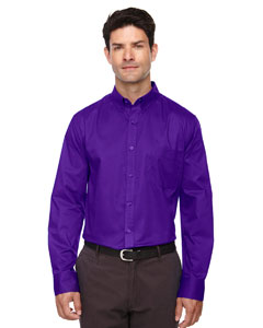 Campus Prple 427 Men's Operate Long-Sleeve Twill Shirt