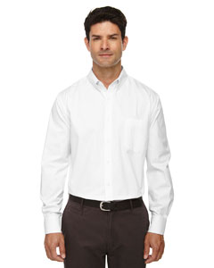 White 701 Men's Operate Long-Sleeve Twill Shirt