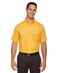 Campus Gold 444 Men's Optimum Short-Sleeve Twill Shirt