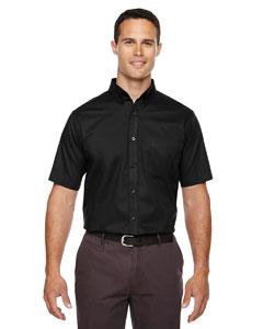 Black 703 Men's Optimum Short-Sleeve Twill Shirt
