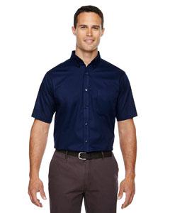 Classic Navy 849 Men's Optimum Short-Sleeve Twill Shirt