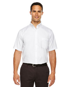 White 701 Men's Tall Optimum Short-Sleeve Twill Shirt