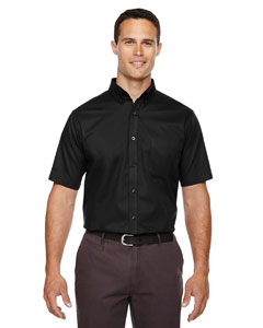 Black 703 Men's Tall Optimum Short-Sleeve Twill Shirt