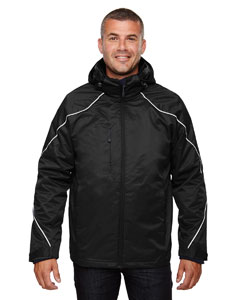Black 703 Men's Angle 3-in-1 Jacket with Bonded Fleece Liner