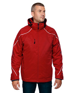 Classic Red 850 Men's Tall Angle 3-in-1 Jacket with Bonded Fleece Liner