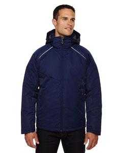 Night 846 Men's Linear Insulated Jacket with Print