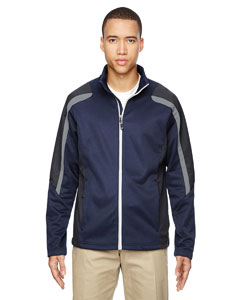 Classic Navy 849 Men's Strike Colorblock Fleece Jacket