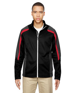Blk/cl Red 874 Men's Strike Colorblock Fleece Jacket