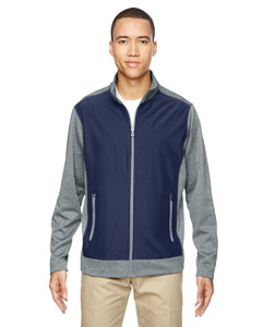 Classic Navy 849 Men's Victory Hybrid Performance Fleece Jacket