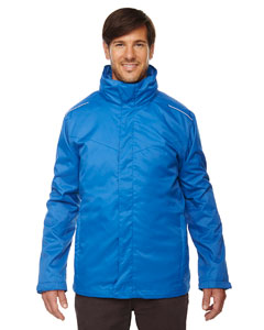 True Royal 438 Men's Region 3-in-1 Jacket with Fleece Liner