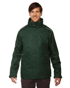 Forest Gren 630 Men's Region 3-in-1 Jacket with Fleece Liner