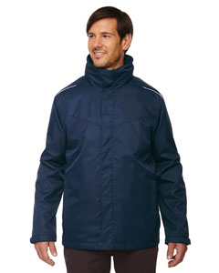 Classic Navy 849 Men's Region 3-in-1 Jacket with Fleece Liner