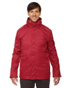 Classic Red 850 Men's Region 3-in-1 Jacket with Fleece Liner
