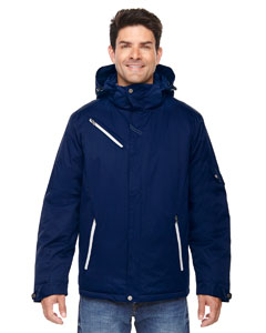 Night 846 Men's Rivet Textured Twill Insulated Jacket