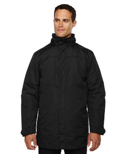 Black 703 Men's Promote Insulated Car Jacket