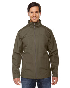Dk Oakmoss 487 Men's Forecast Three-Layer Light Bonded Travel Soft Shell Jacket