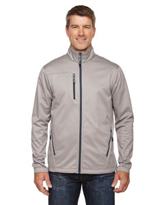 Platinum 837 Men's Trace Printed Fleece Jacket