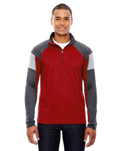 Classic Red 850 Men's Quick Performance Interlock Half-Zip Top