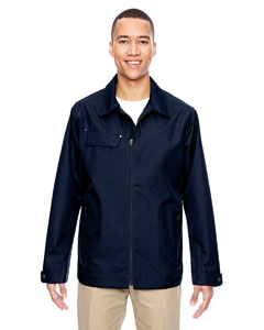Navy 007 Men's Excursion Ambassador Lightweight Jacket with Fold Down Collar