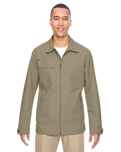 Stone 019 Men's Excursion Ambassador Lightweight Jacket with Fold Down Collar